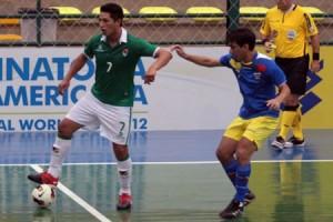 Bolivia y Ecuador ya chocaron en las Eliminatorias a Tailandia 2013 (www.futsaldobrasil.com.br)