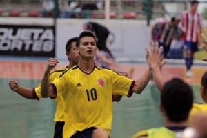 Colombia y Paraguay  ya se vieron las caras en Granado 2012 (www.futsaldobrasil.com.br)