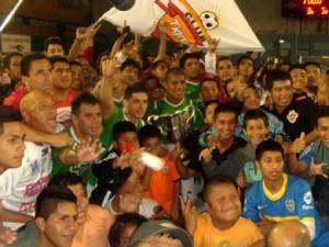 Los Tigres venció 5-3 a Panta NPA y se adjudicó el título (Foto: PeruFutsal.pe)