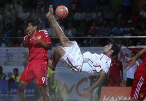 Irán venció a China y se metió en semifinales (Foto: BSW)