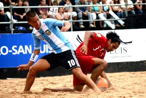 En el arranque de las Eliminatorias, Perú estuvo cerca del empate, pero perdió 1-2 ante Argentina (Foto: InfoMerlo.com)