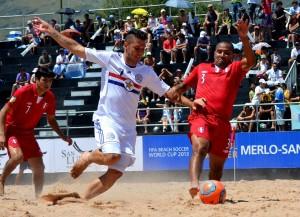 Paraguay salió airoso tras vencer largamente a Perú (Foto: InfoMerlo.com)