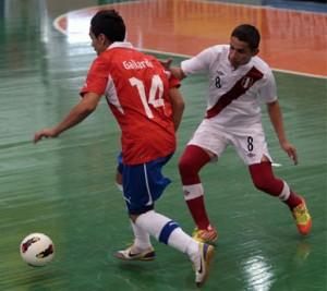 Perú y Chile se ven las caras luego de las Eliminatorias al Mundial de Tailandia (Foto: FutsaldoBrasil)