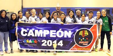 PUCP venció en la fecha final a UPC y se adjudicó la corona de la División de Ascenso (Foto: FFEDUP)
