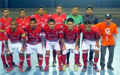 El representante del futsal chalaco, Los Pioneros, se mide ante el campeón del Apertura, Primero de Mayo (Foto: Facebook)