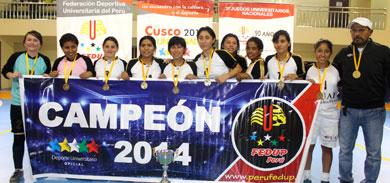 Universidad Alas Peruanas tras superar ajustadamente a URP, se consagró Campeón División I (Foto: FEDUP)