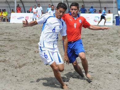 El Salvador chocará en la final ante Paraguay, luego de derrotar a Chile (Foto: Prensa JJBB Huanchaco 2014)