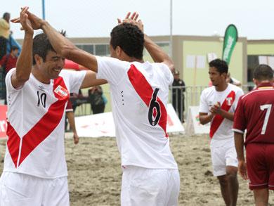 Perú derrotó a Venezuela y se adjudicó el 5to lugar del torneo (Foto: Prensa JJBB Huanchaco 2014)