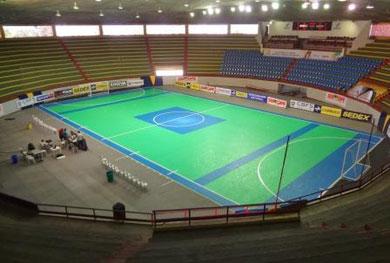 Todo el torneo se llevará a cabo en el Gimnasio de Deportes Constancio Vieira de Aracajú (Foto: Pasión Futsal)