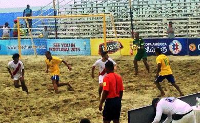 Perú cayó en el debut ante el poderoso Brasil (Foto: Difusión)