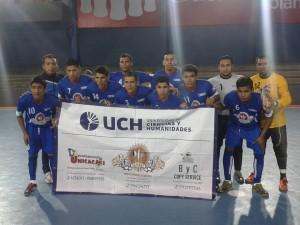 Universidad de Ciencias y Humanidades dejo buena impresión en su debut y goleó a San Martín (Foto: Facebook UCH Futsal)
