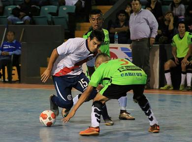 Municipal igualó a dos goles por lado ante Cabitos Futsal, todo se define este miércoles (Foto:Prensa Dep. Municipal)