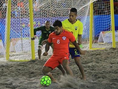 Chile fue más que Ecuador y terminó en el 1er. lugar del Grupo A (Foto: JJBB Iquique 2016)