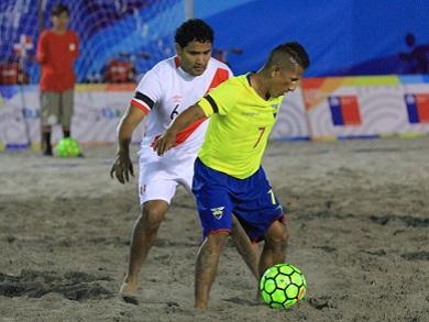 Ecuador superó a Perú en tanda de penales y lo dejó fuera de semifinales (Foto: JJBB Iquique 2016)