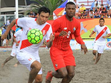 En el repechaje por la definición del quinto lugar, Perú superó ajustadamente por 3-2 a Panamá (Foto: JJBB Iquique 2016)